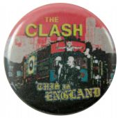 The Clash - 'This is England' Button Badge